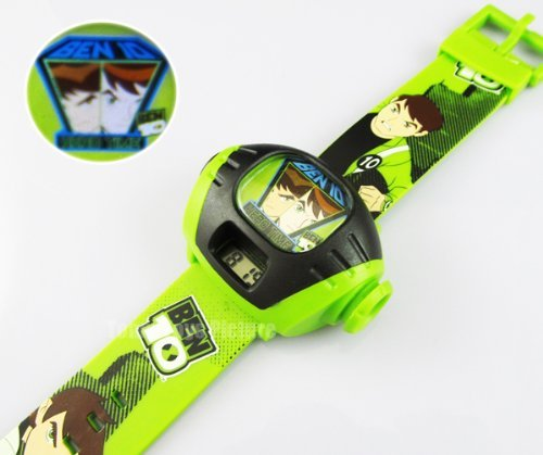 Baby/Infant/Child/Kid Ben 10 Alien Force Omnitrix Illumintator Projector Digital Wrist Watch Newborn Gear