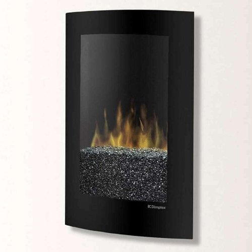 Dimplex 22-inch Convex Wall Mount Electric Fireplace - Black - Vcx1525 photo B005T07ODW.jpg