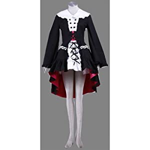 CTMWEB The Melancholy of Haruhi Suzumiya Nagato Yuki Gothic Dress V2 Medium
