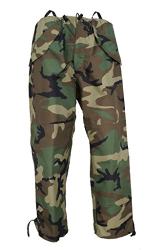 ECWCS Gen I trousers in woodland camouflage
