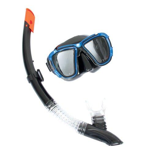 Bestway Tauchset Tauch Schnorchel Set Taucherbrille Tauchermaske für Erwachsene