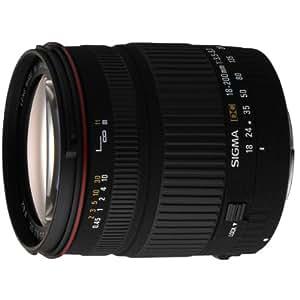 Sigma 18-200mm F3,5-6,3 DC Objektiv (62mm Filtergewinde) für Canon