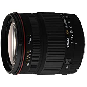 Sigma - Objetivo 18-200 mm f/3.5-6.3 DC para Canon DSLR
