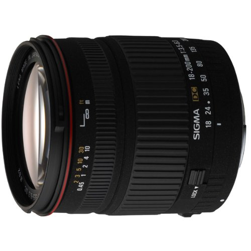 Sigma 18-200mm f/3.5-6.3 DC Canon fit lens