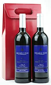Michele d'Or Twin Pack - Merlot/Cabernet Sauvignon and Shiraz in a Red Gift Box