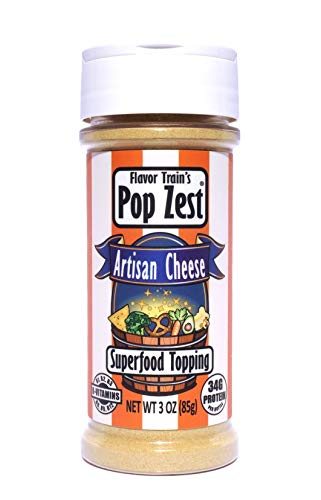 Pop Zest- Artisan Cheese Dairy-free Superfood Topping