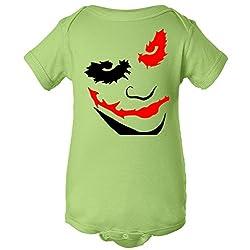 Clown Joker Face One Piece Romper Baby Bodysuit