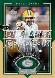 2004 UD Diamond All-Star #40 Brett Favre