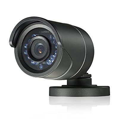 Laview LV-CBA3263BP CCTV Home Surveillance Outdoor IR 600TVL Bullet Security Camera Color Day Night 12 Infrared LEDs Night Vision (Black)