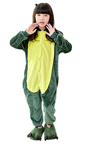 [Lovely animal pajamas,Cosplay Homewear Lounge children Wear pajamas and Lovely shoes (height:46-52inches,] (Spyro The Dragon Halloween Costume)