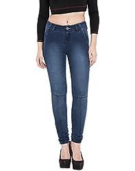 TARAMA Dark Blue color Jeans for women