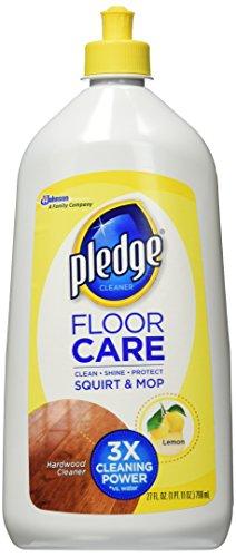 Pledge FloorCare Wood Squirt & Mop - Citrus - 27 oz - 2 pk