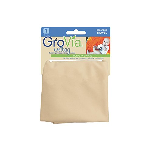 Grovia Wet Bag - Vanilla front-399310