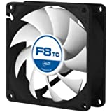 ARCTIC F8 TC - 80 mm Standard Low Noise Temperature Controlled Case Fan