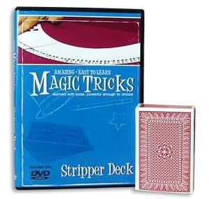 Amazing Easy To Learn Magic Tricks- Stripper Deck Combo - 1
