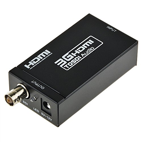 Review Of ABLEGRID® MINI HDMI to SDI SD-SDI HD-SDI 3G-SDI Converter HD 1080P Video Converter