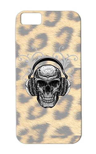 Anti-Scratch Tpu For Iphone 5C Silver Skull Headphones Shirts Graphic Satire Printing Image Hoodies Design Designer Best Funny T Shirts,Skull Shirts, Case