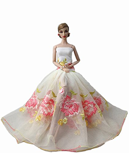 Party Skirt Clothes Doll Variety Of High-End Wexying Dress (Kidcraft Washer compare prices)