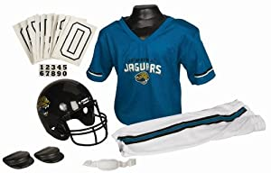 Jacksonville Jaguars NFL Football Deluxe Uniform Set Size Small by CSY