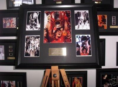 Liverpool FC European cup display football memorabilia