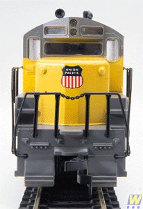 Spur HO - US locomotive disel GP9M Union Pacific