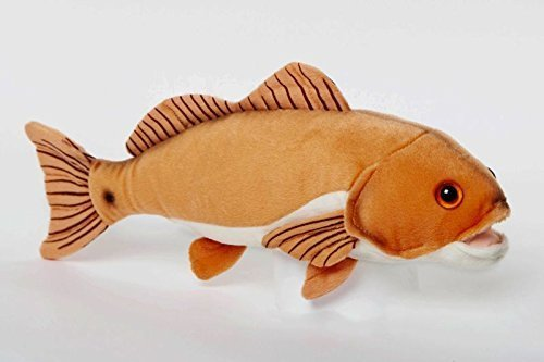 "Redfish 10"" Stuffed Plush Animal - Cabin Critters Saltwater Fish Collection"