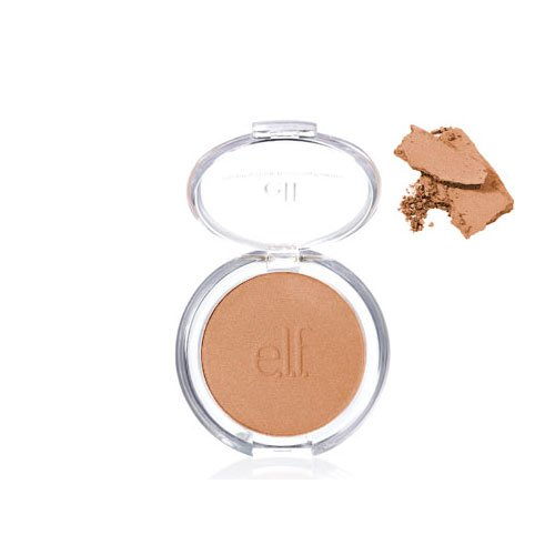 e.l.f. Essential Healthy Glow Bronzing Powder WARM TAN Bronzer Face Makeup ELF