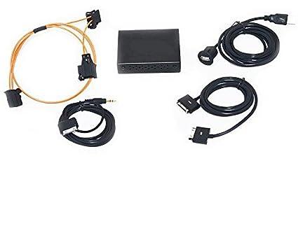Interface audio pour audi mMI 2 g-high iPod iPhone 3 4, 5 et 6 uSB a2DP nouvel-aUX-aMI