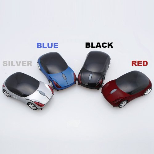 Big Bargain USB 2.4G 1600dpi 3D Wireless Optical Car Maus mit PC