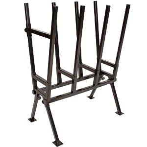 TecTake® Holzsägebock für Kettensäge 76cm x 50cm x 103cm