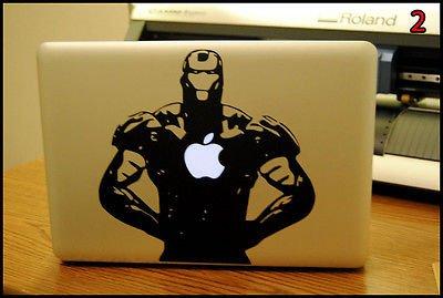 Ironman: Apple Macbook Pro & Air Laptop Decal/Sticker (Marvel) front-848737