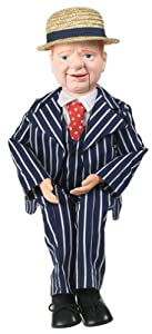 Goldberger 30 W.C. Fields Ventriloquist Doll With Tote Bag And Instruction Booklet by Goldberger