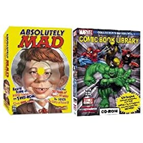 Mad Magazine &#038; Comic Book Library Collectors Edition Bundle