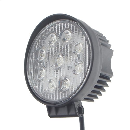 Tmh 27W Round Shape 30 Degree Led Work Light Spot Lamp