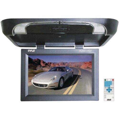 "Pyle Plrd175If 17"" Flip-Down Monitor With Built-In Dvd/Secure Digital Card/Usb Player & Wireless Fm Modulator/Ir Transmitter"