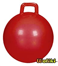 Red Jumping Hopper Hop Ball, Ages 10-12 (For Teenagers)