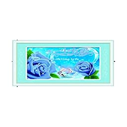 3D Diamond Stitch Love Lifelong Rose Blue Forever True Love Diamond Painting Cross Stitch