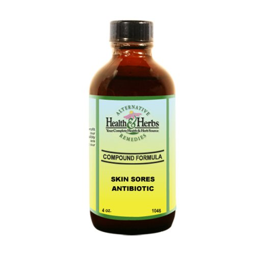 Alternative Health &amp; Herbs Remedies Skin Sores, antibiotic, 4 ...