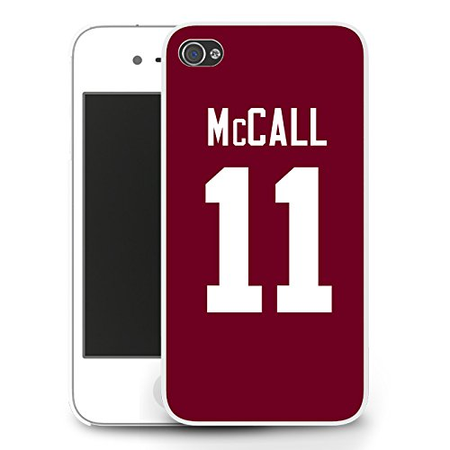 McCall 11 Lacrosse Teen Wolf Jersey - iPhone 6 Case - Bianco