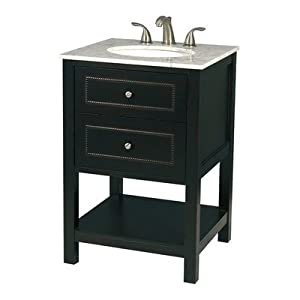 Pegasus F10AE00211A 24-Inch Madison Vanity with Vanity Top Espresso