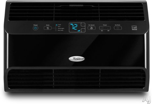 Lowest Price! Whirlpool® 6,300 BTU Premium Resource SaverTM Room Air Conditioner, Black, W7WCC065XB
