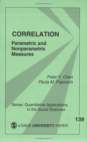 Correlation: Parametric and Nonparametric Measures...