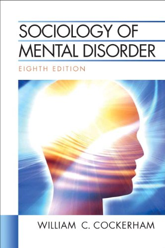 Sociology of Mental Disorder (8th Edition)