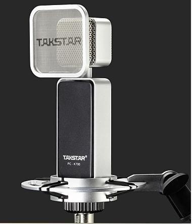 Takstar Pc-K700 Side-Address Microphone--Black