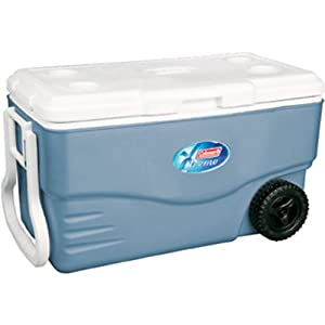 Coleman 100-Quart Xtreme Wheeled Cooler (Blue)