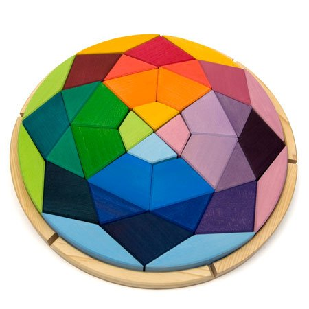 Picture of Fun Wooden Puzzle Diamond (B004XSWZDU) (Pegged Puzzles)