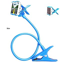 Smarty Universal Flexible 360� Car/ Home Mobile Phone/ Holder Snake Style Stand for Apple iPhone/Samsung/Android Mobiles (Blue)