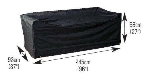 Modular Garden 3 Seater Sofa Cover Large (M690)