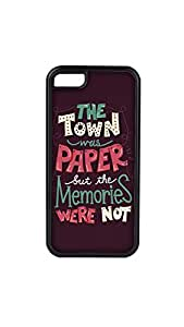 The Town Designer Mobile Case/Cover For iPhone 5c 2D black