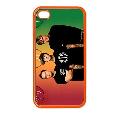 blink 182 v2 iphone hard case 4 and 4s iphone plasstic cover